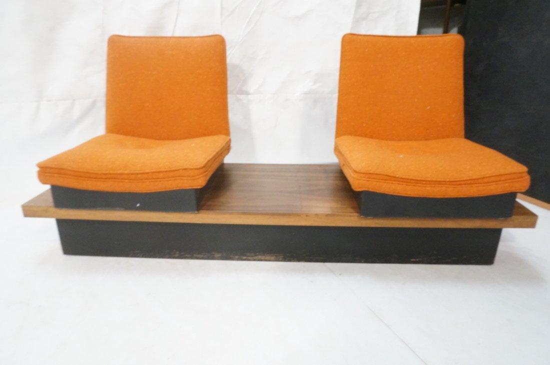 3pc  Modern Seating. Thayer Coggin Label. Two Lou - 7