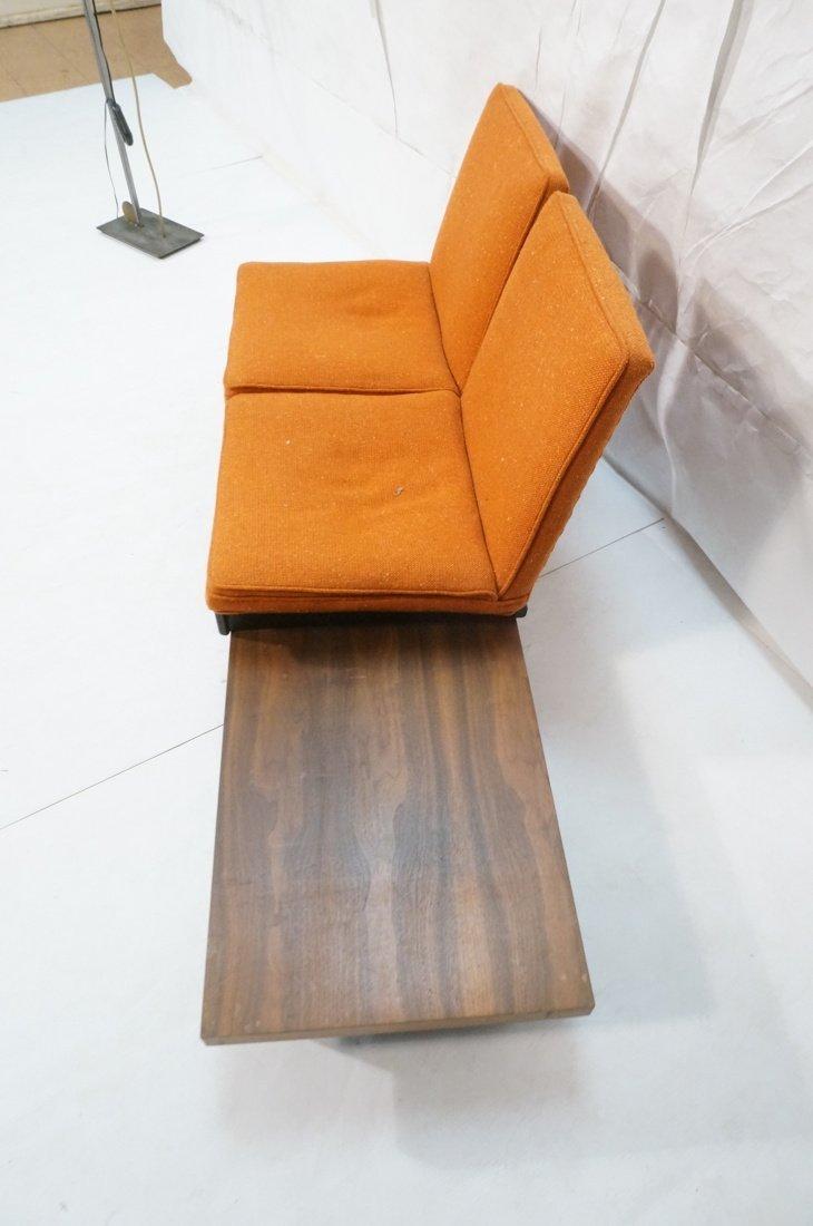 3pc  Modern Seating. Thayer Coggin Label. Two Lou - 9