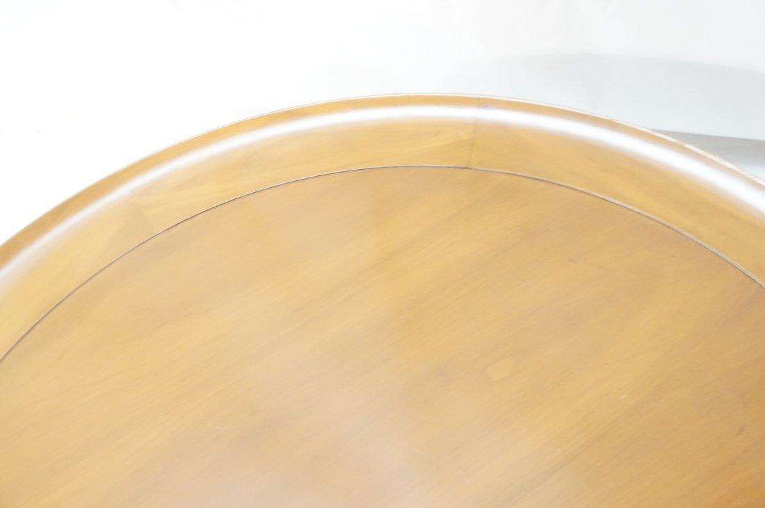 Widdicomb style Round Coffee Table. Flared lip. L - 5
