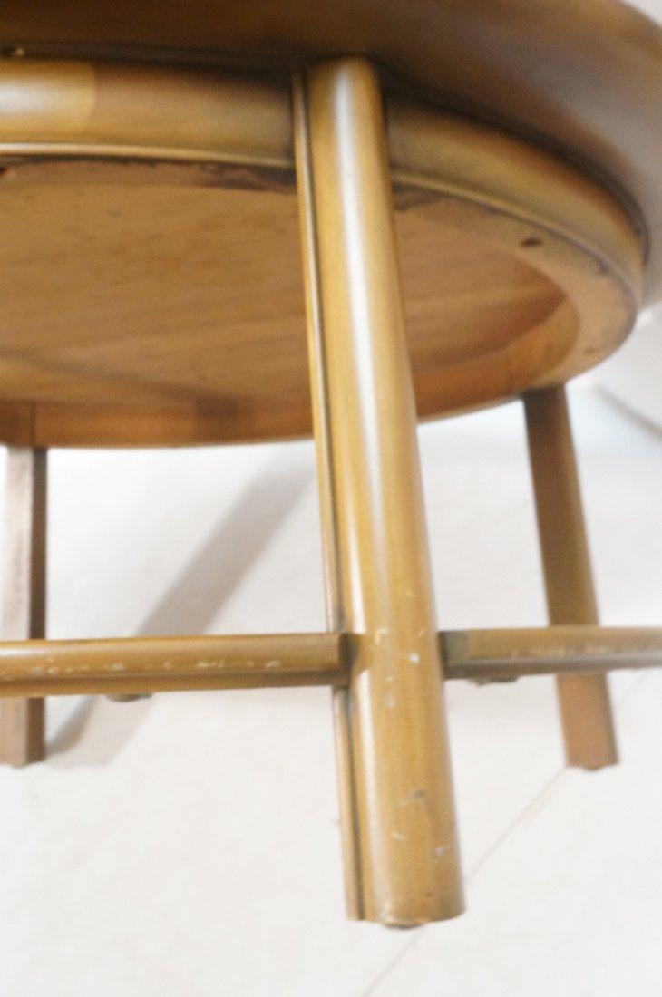 Widdicomb style Round Coffee Table. Flared lip. L - 8