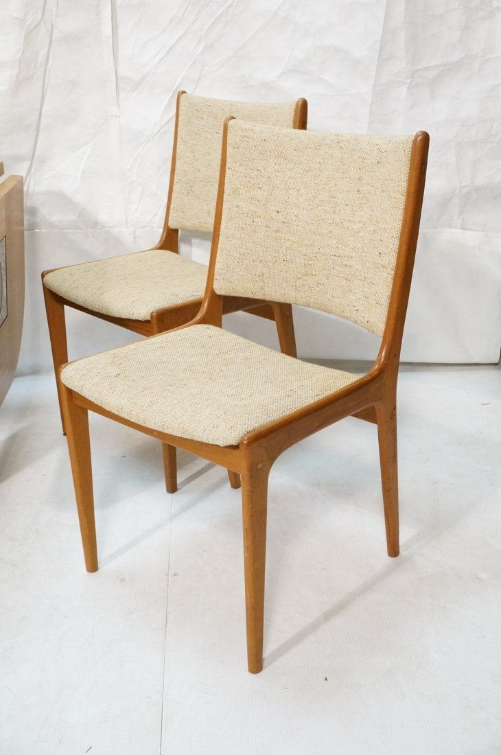 Danish Modern Teak Dining Set. Inset ceramic tile - 2