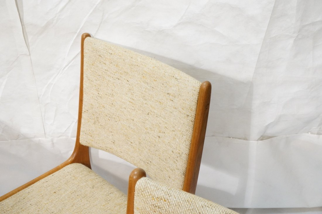 Danish Modern Teak Dining Set. Inset ceramic tile - 3