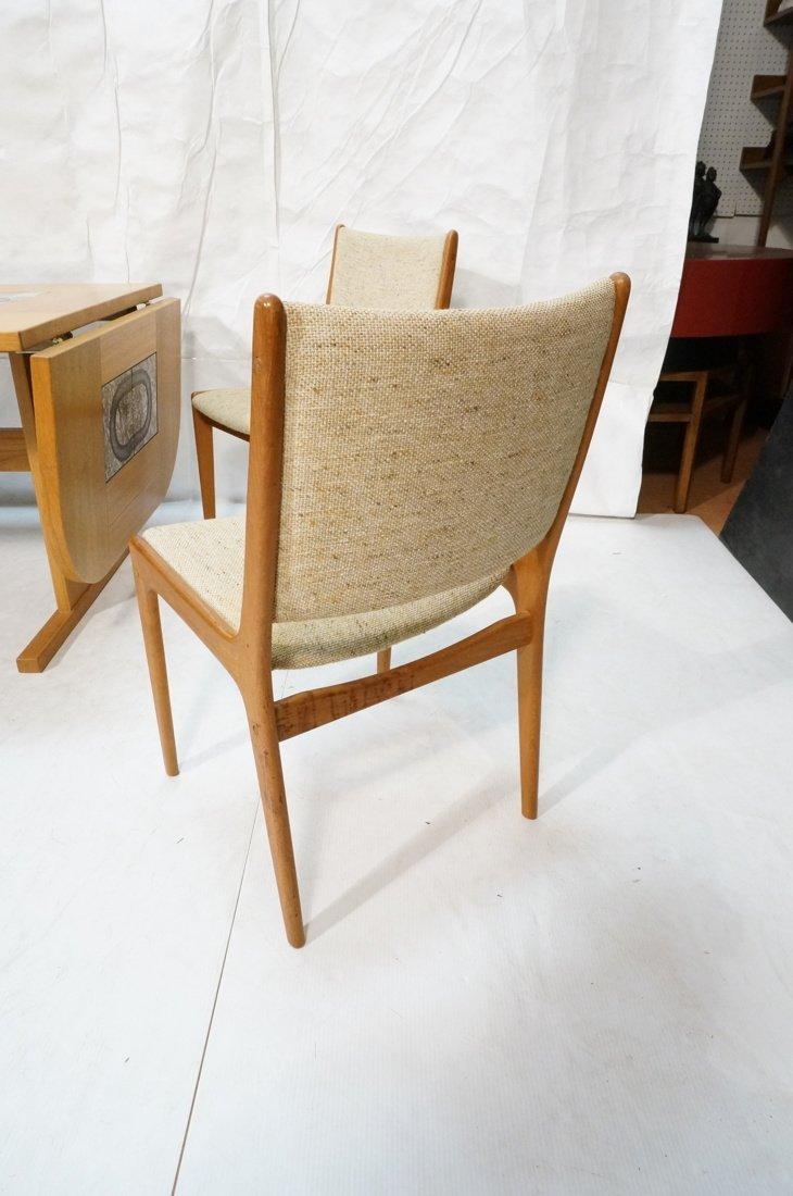 Danish Modern Teak Dining Set. Inset ceramic tile - 4