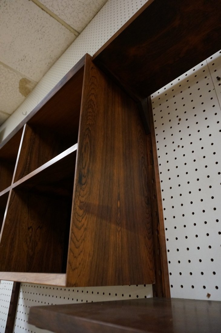 Rosewood CADO Wall Unit. Four Rosewood uprights. - 9
