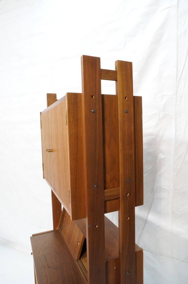 Danish Modern Teak Small Cabinet Hutch. Lower cab - 7
