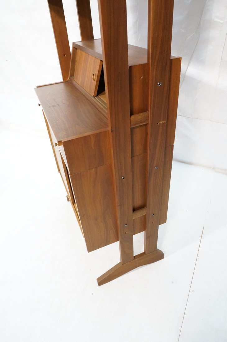 Danish Modern Teak Small Cabinet Hutch. Lower cab - 8