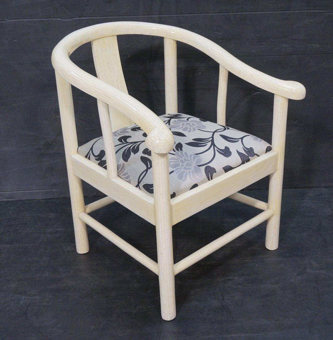 Century style Ivory tone tesserae tile Asian styl