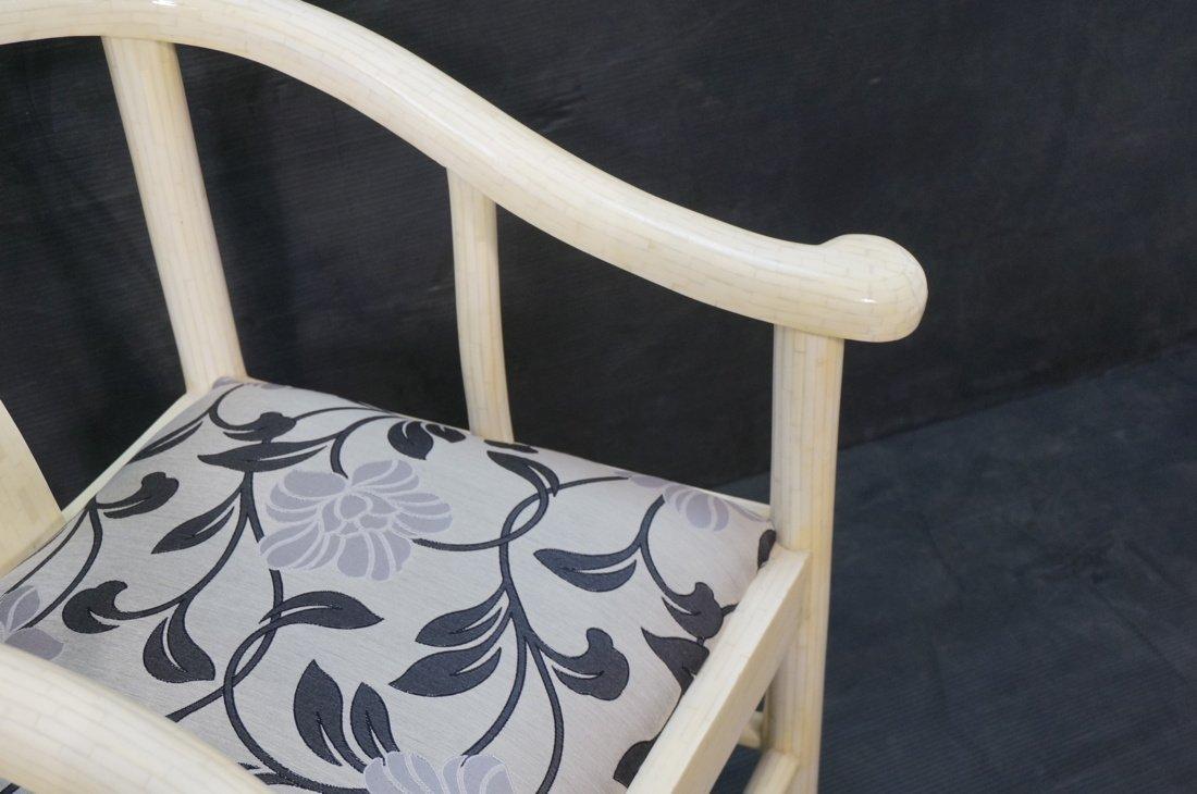 Century style Ivory tone tesserae tile Asian styl - 3