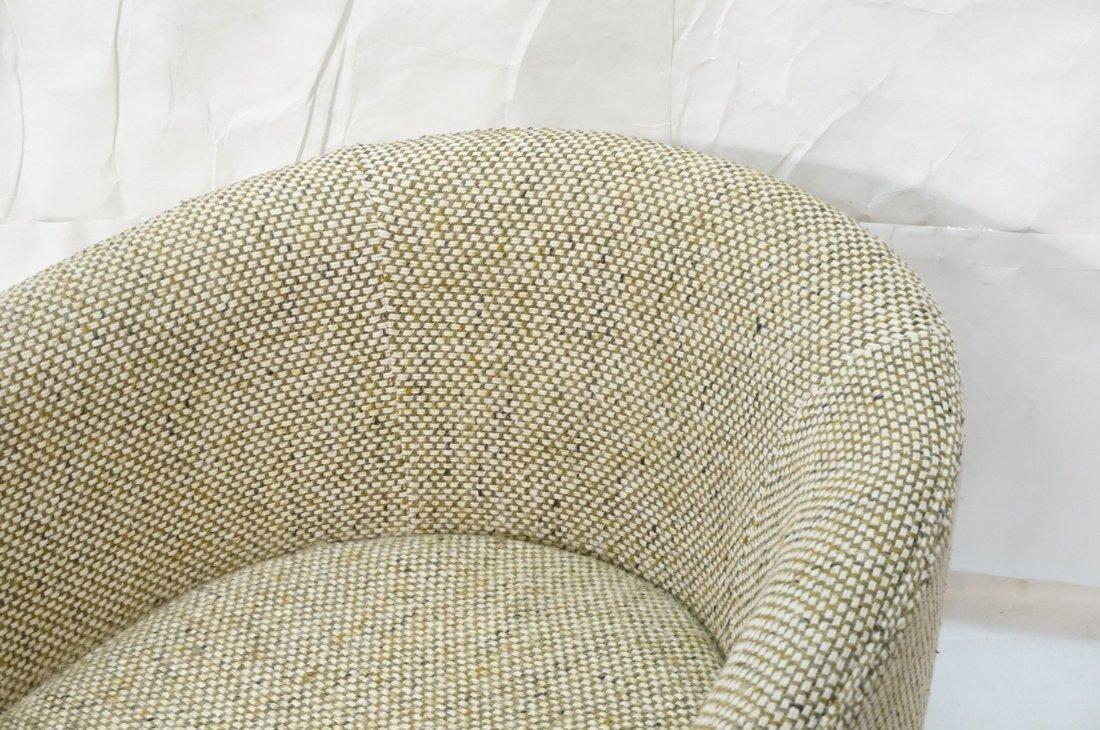 CARLTON HOUSE  Swivel Lounge Chair. Barrel back s - 2