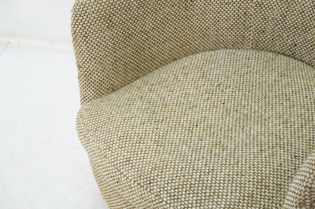 CARLTON HOUSE  Swivel Lounge Chair. Barrel back s - 3