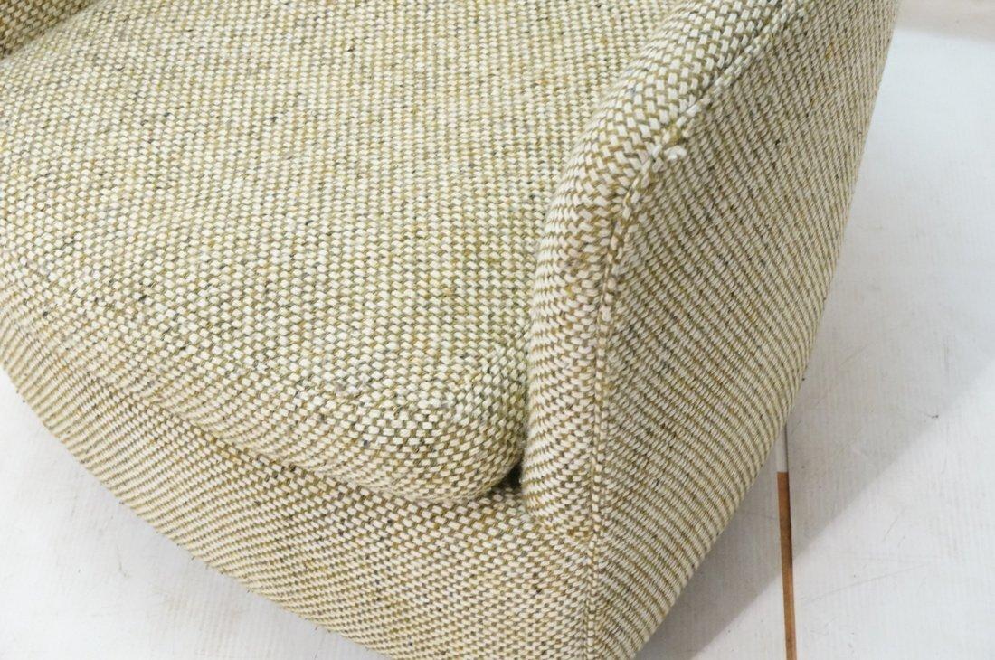CARLTON HOUSE  Swivel Lounge Chair. Barrel back s - 4