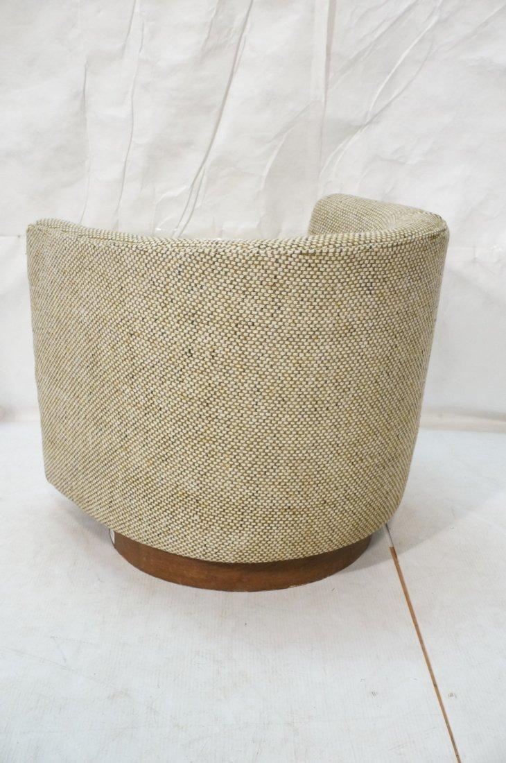 CARLTON HOUSE  Swivel Lounge Chair. Barrel back s - 7