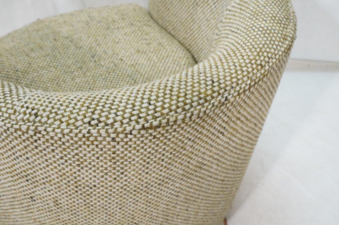 CARLTON HOUSE  Swivel Lounge Chair. Barrel back s - 8