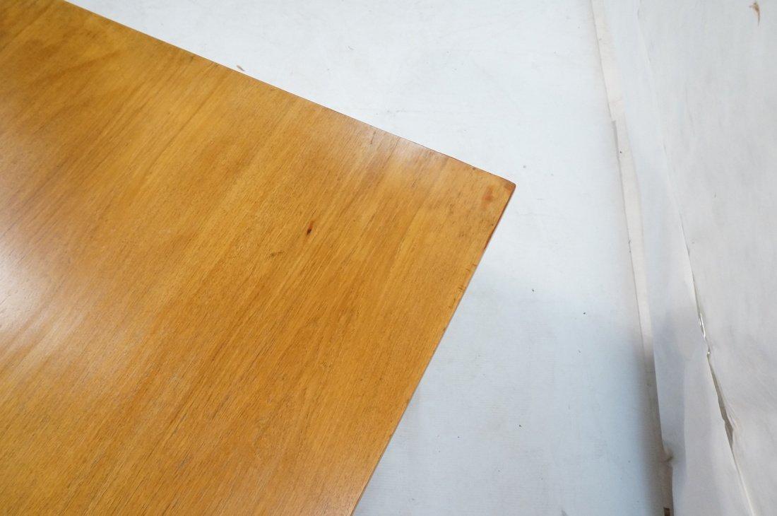Large Executive 5 drawer Modernist Desk. Teak Dan - 8