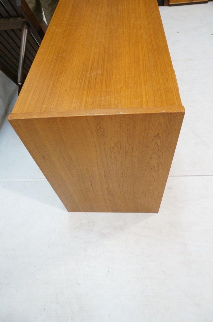 Danish Modern Teak Desk. Two file drawers. - 9