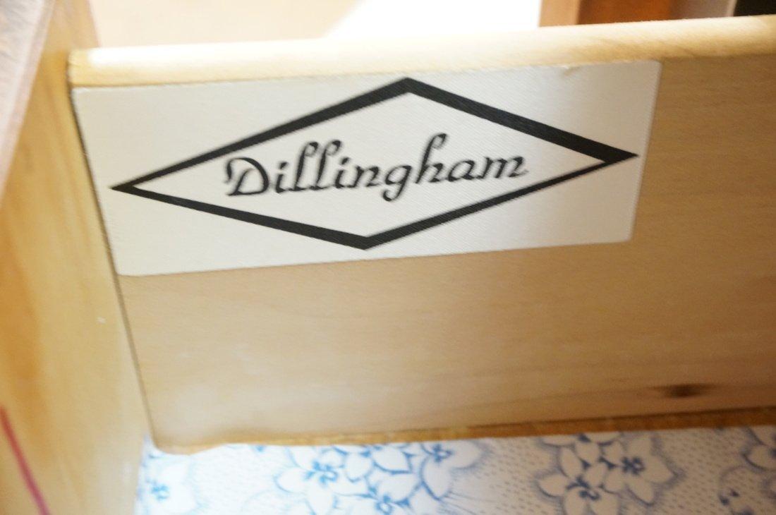 DILLINGHAM Walnut Tall Chest Of Modernist Drawers - 3