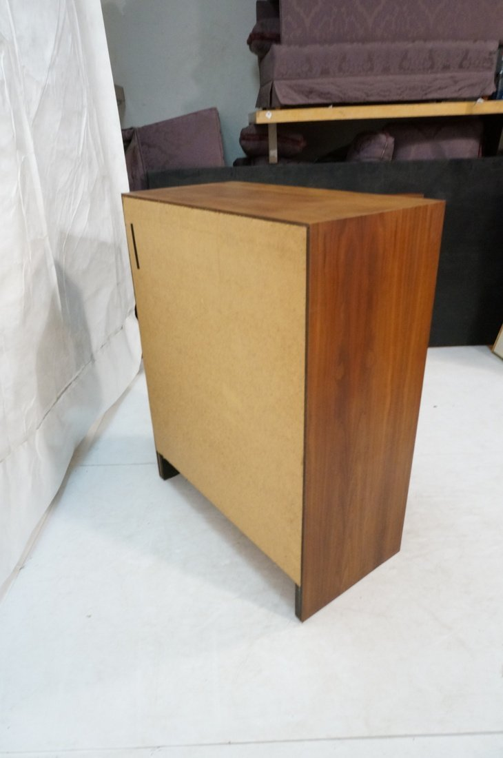 DILLINGHAM Walnut Tall Chest Of Modernist Drawers - 8