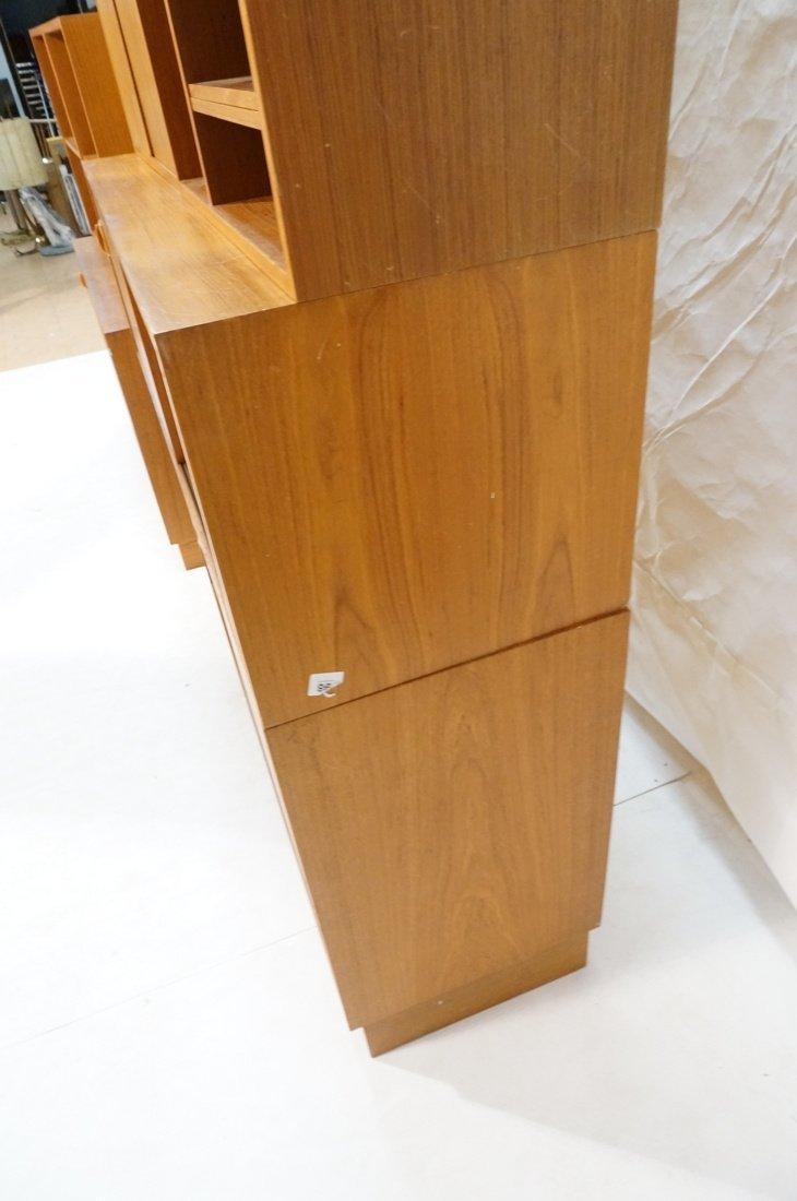 Lot 7 Danish Teak Modern Cabinets. Some with slid - 10