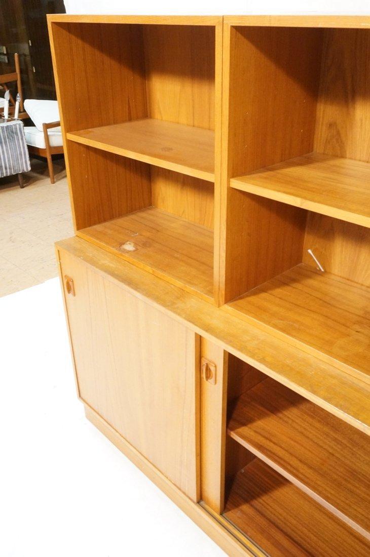 Lot 7 Danish Teak Modern Cabinets. Some with slid - 6