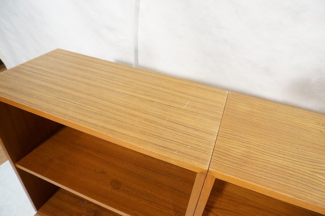 Lot 7 Danish Teak Modern Cabinets. Some with slid - 8