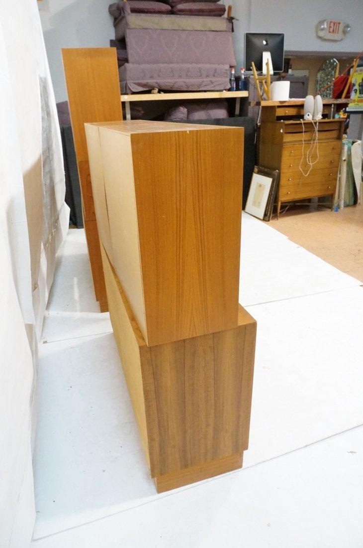 Lot 7 Danish Teak Modern Cabinets. Some with slid - 9