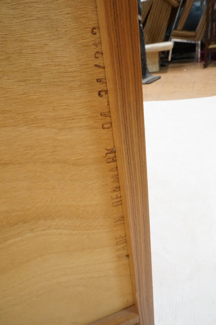 Two Teak Danish Modern Cabinets. Single doors. - 6