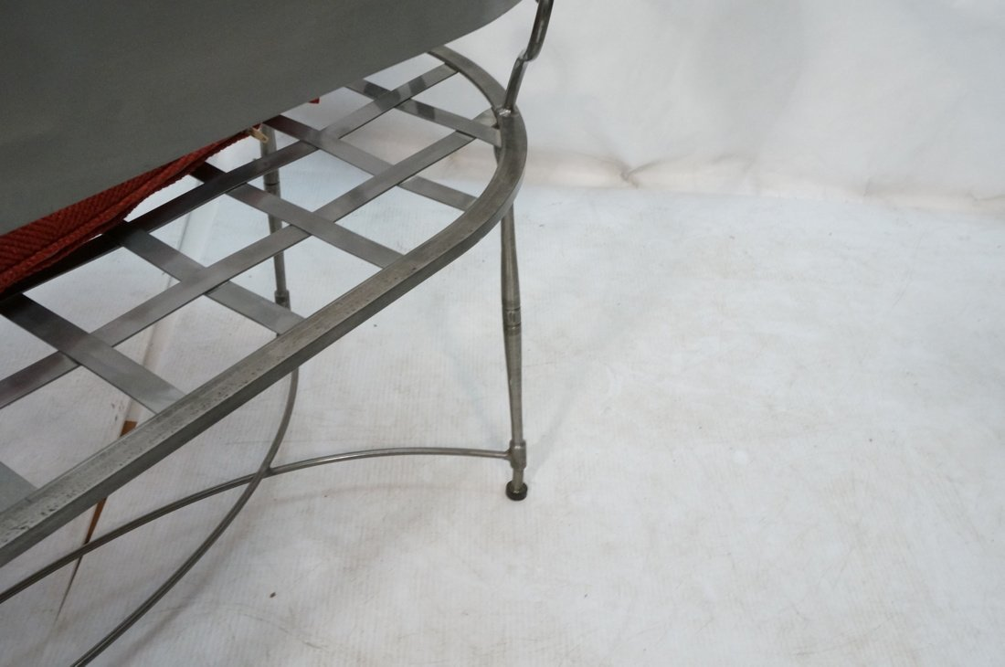 Steel Decorator Contemporary Bench Seat. Scroll a - 10