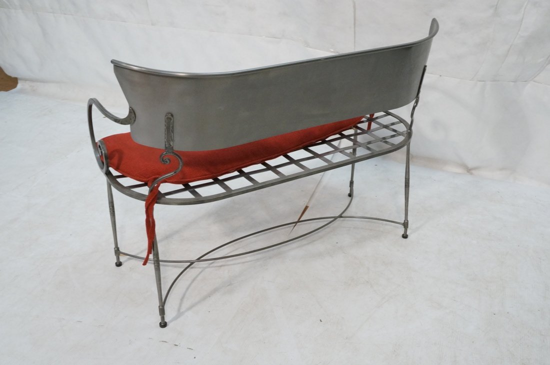 Steel Decorator Contemporary Bench Seat. Scroll a - 7