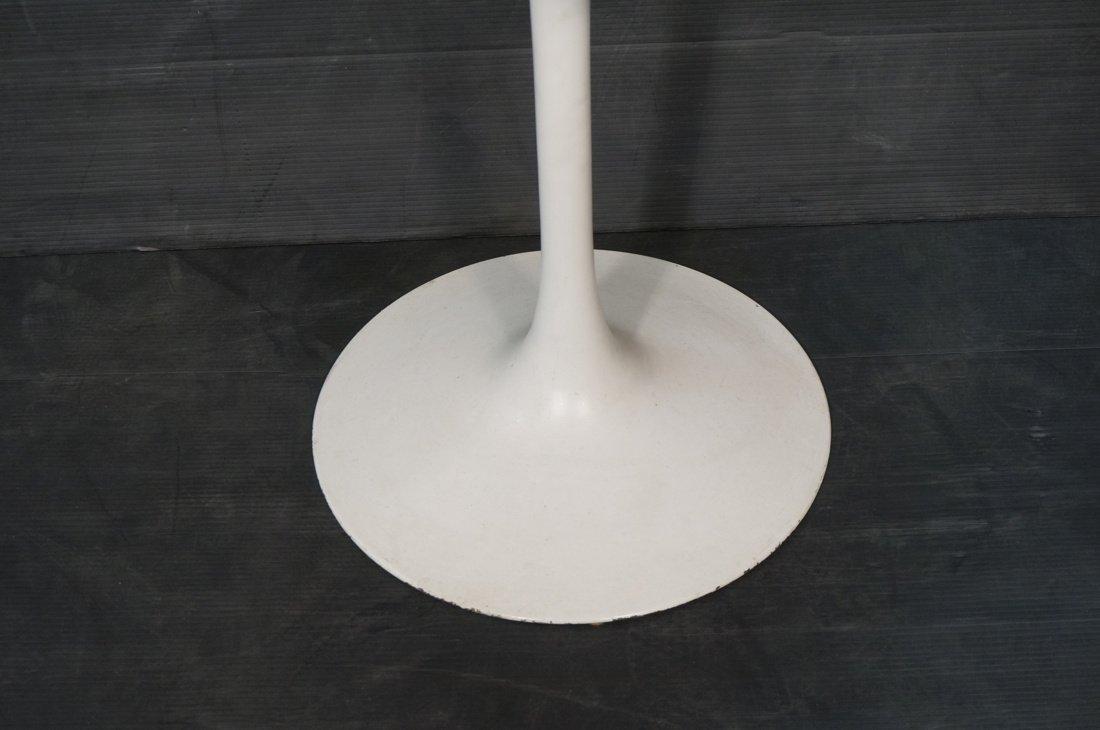 SAARINEN style Tulip Table. Round white laminate - 3