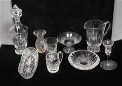 20pcs WATERFORD Crystal. Few Compotes. Vase. Deca