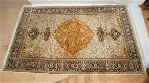 "14'8"" x 8'10"" Turkish Oriental Carpet Rug. Colorf"