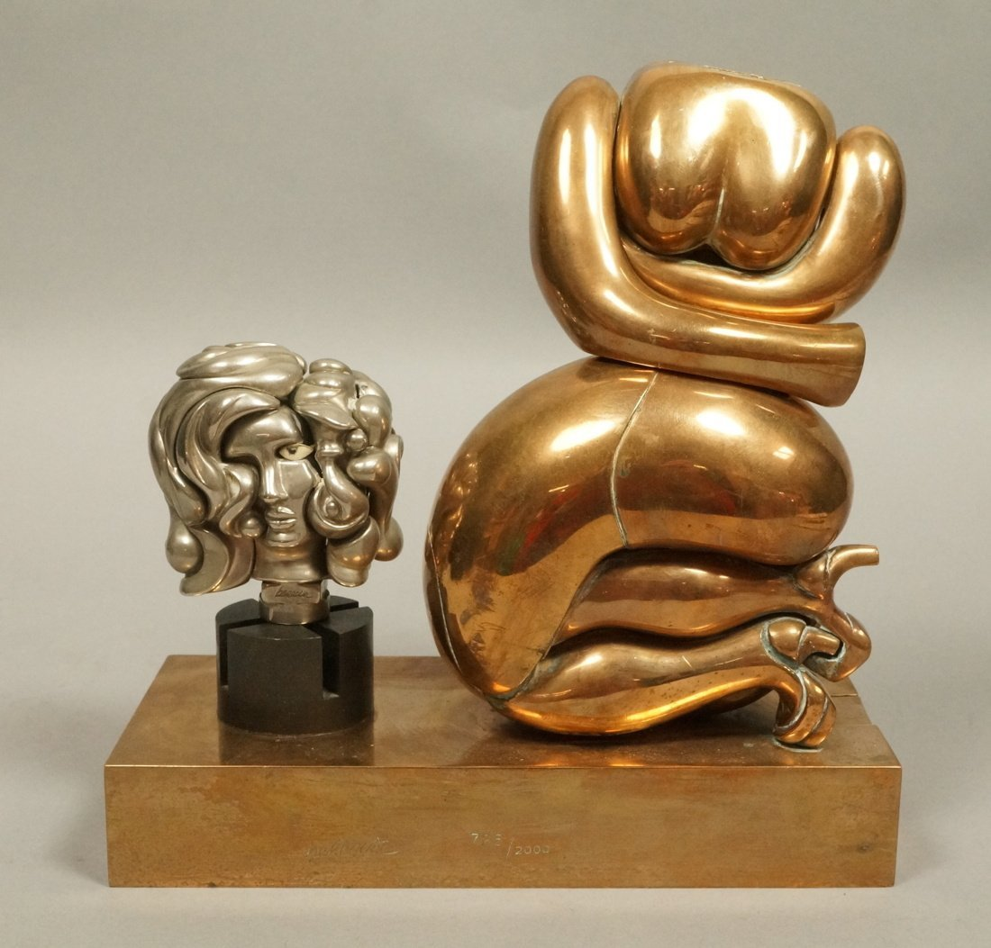 MIGUEL BERROCAL - LA TOTOCHE Bronze Puzzle Sculpt
