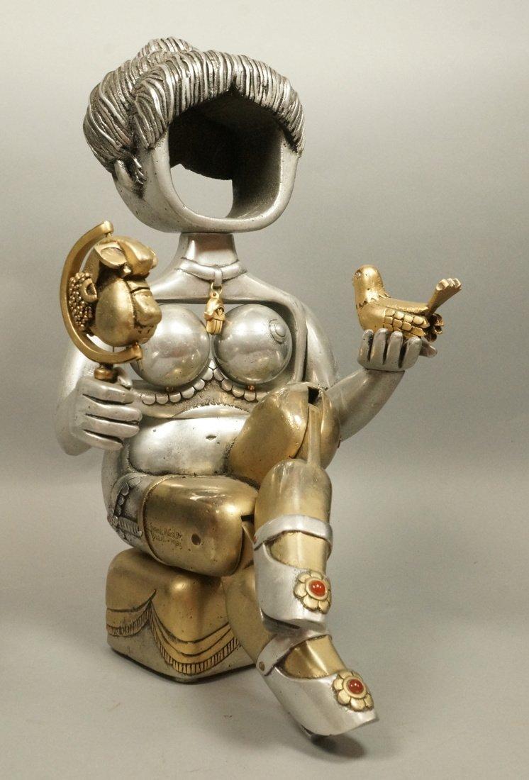 "FRANK MEISLER Figural Sculpture. ""PRINCESS"". Figu"