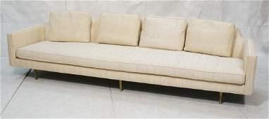 EDWARD WORMLEY for DUNBAR Modernist Sofa. Tapered