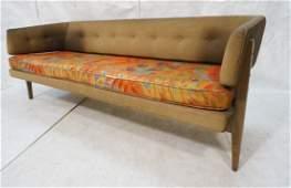 EDWARD WORMLEY by DUNBAR Sofa Couch. Walnut frame