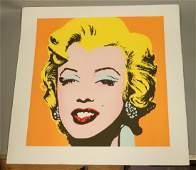 ANDY WARHOL MARILYN MONROE Lithograph Print Andy