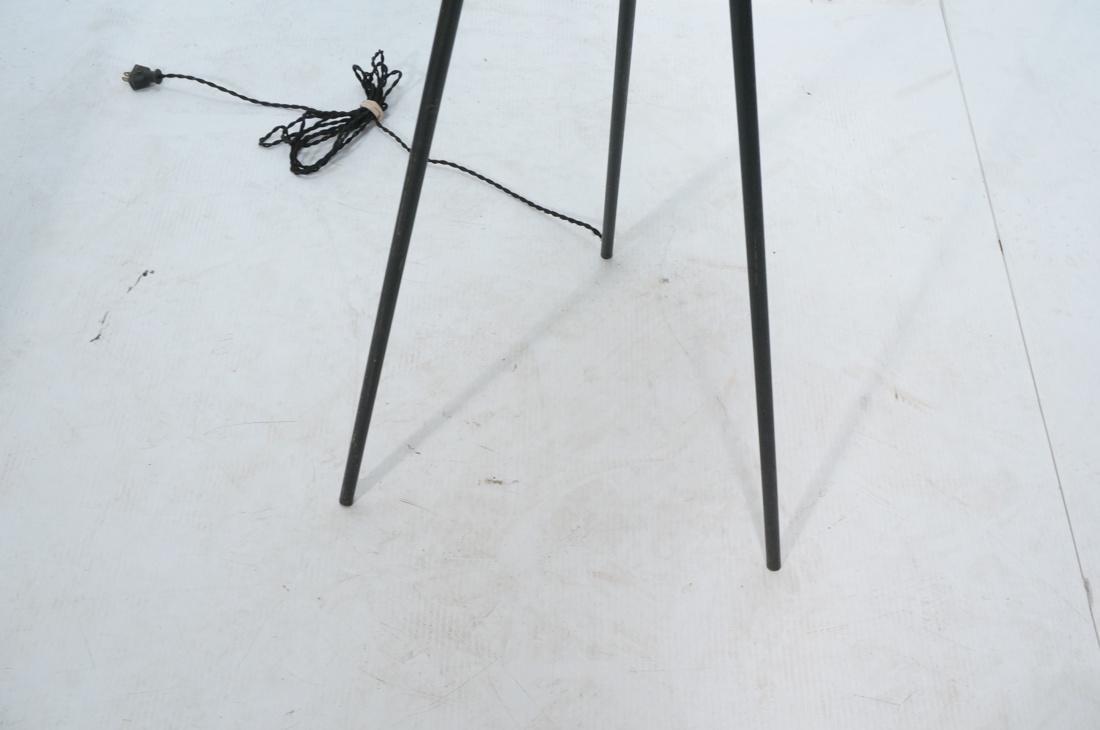 GERALD THURSTON Style Tripod Floor Lamp. Black me - 4