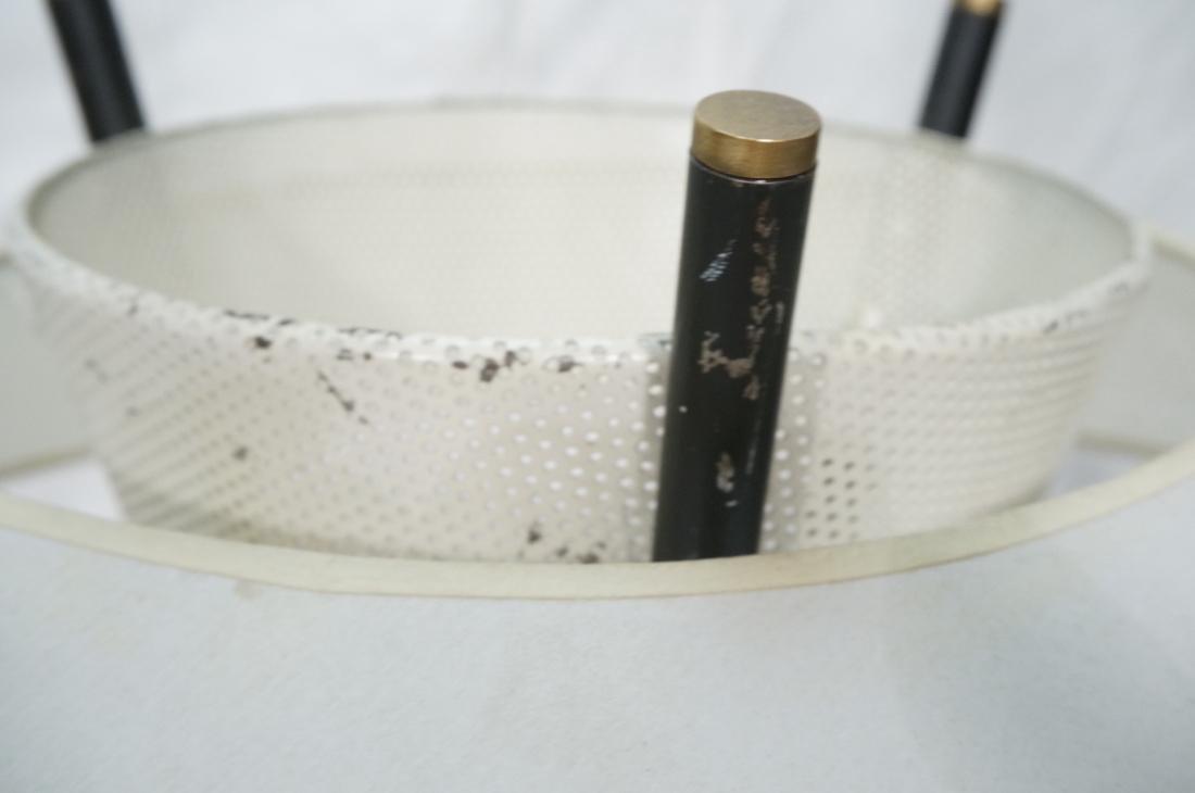 GERALD THURSTON Style Tripod Floor Lamp. Black me - 5