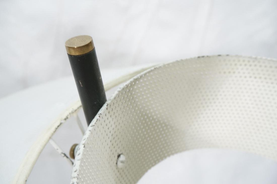 GERALD THURSTON Style Tripod Floor Lamp. Black me - 6