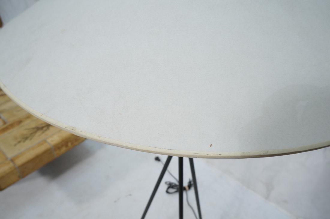 GERALD THURSTON Style Tripod Floor Lamp. Black me - 7