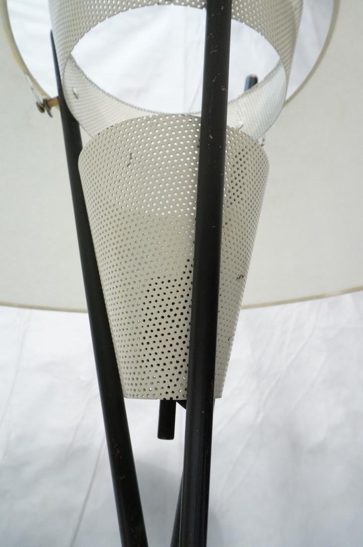 GERALD THURSTON Style Tripod Floor Lamp. Black me - 8