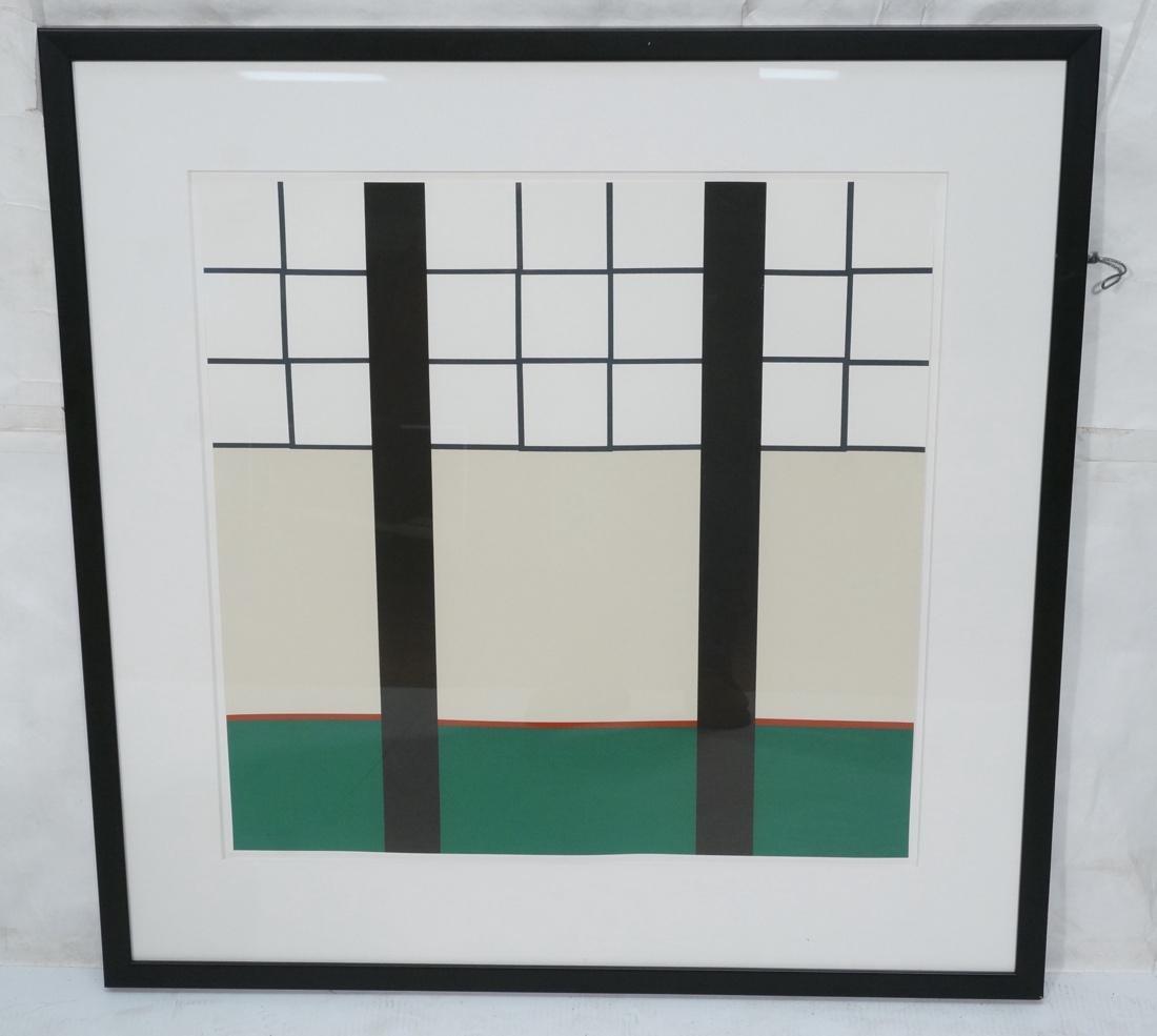 STEPHEN WESTFALL Modernist Silkscreen Print. Penc