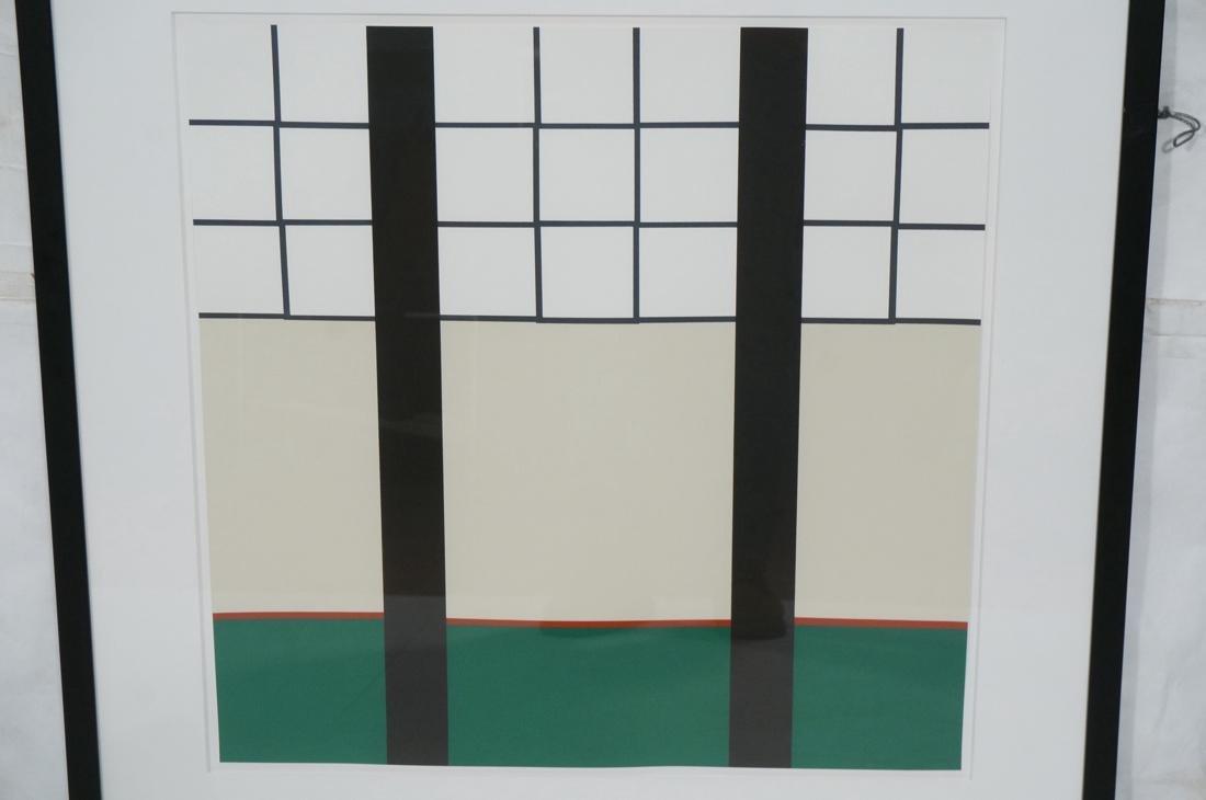 STEPHEN WESTFALL Modernist Silkscreen Print. Penc - 2