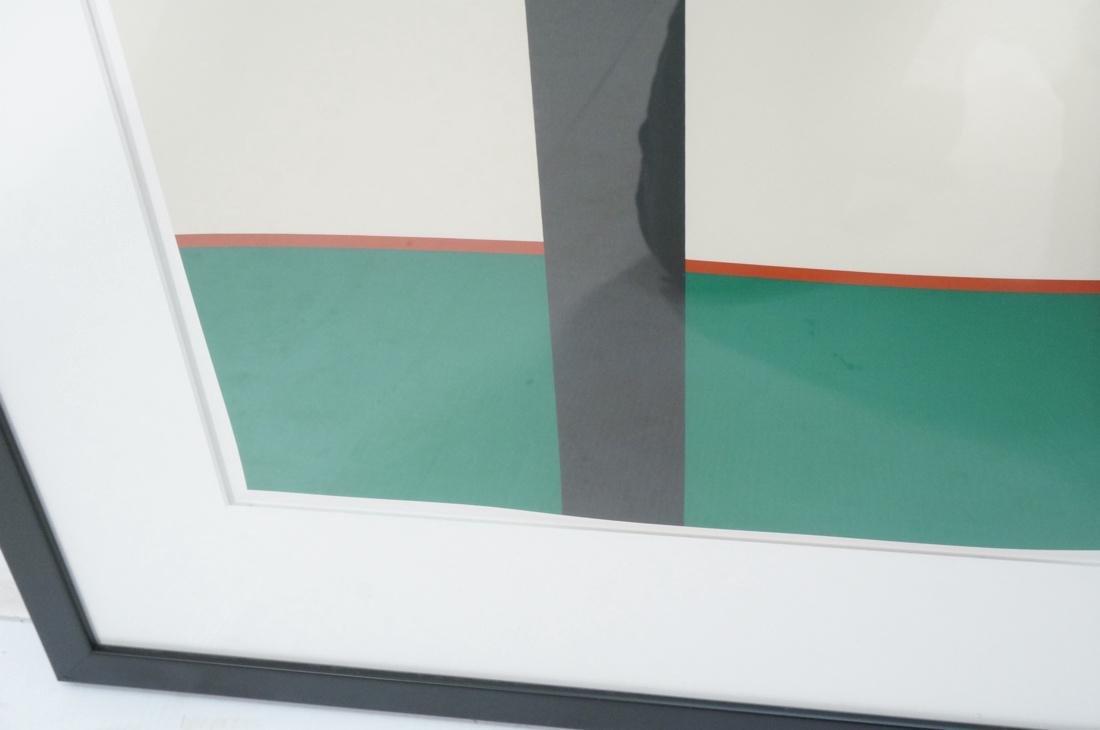 STEPHEN WESTFALL Modernist Silkscreen Print. Penc - 5