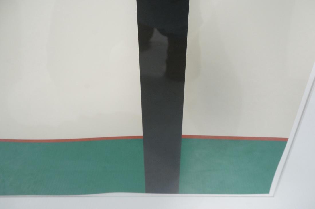STEPHEN WESTFALL Modernist Silkscreen Print. Penc - 6