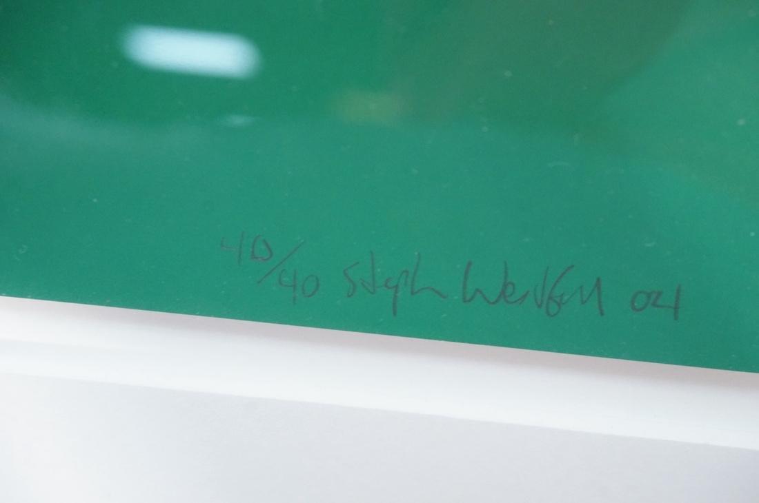 STEPHEN WESTFALL Modernist Silkscreen Print. Penc - 7
