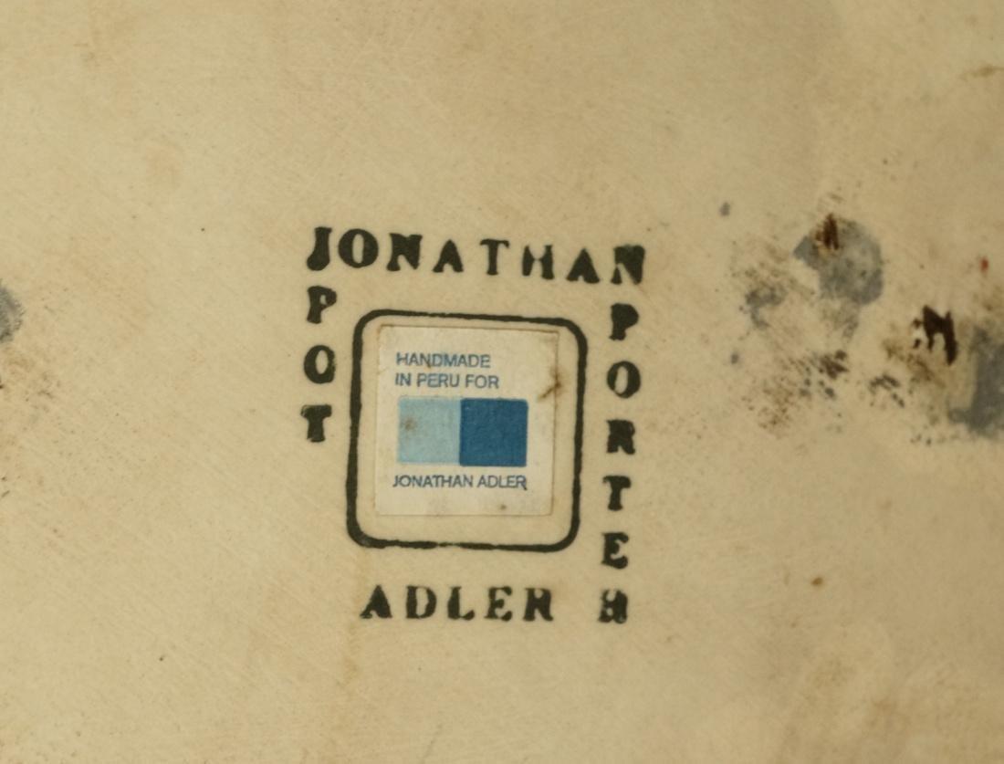JONATHAN ADLER Oversized Pottery Vessel Vase. Rib - 2