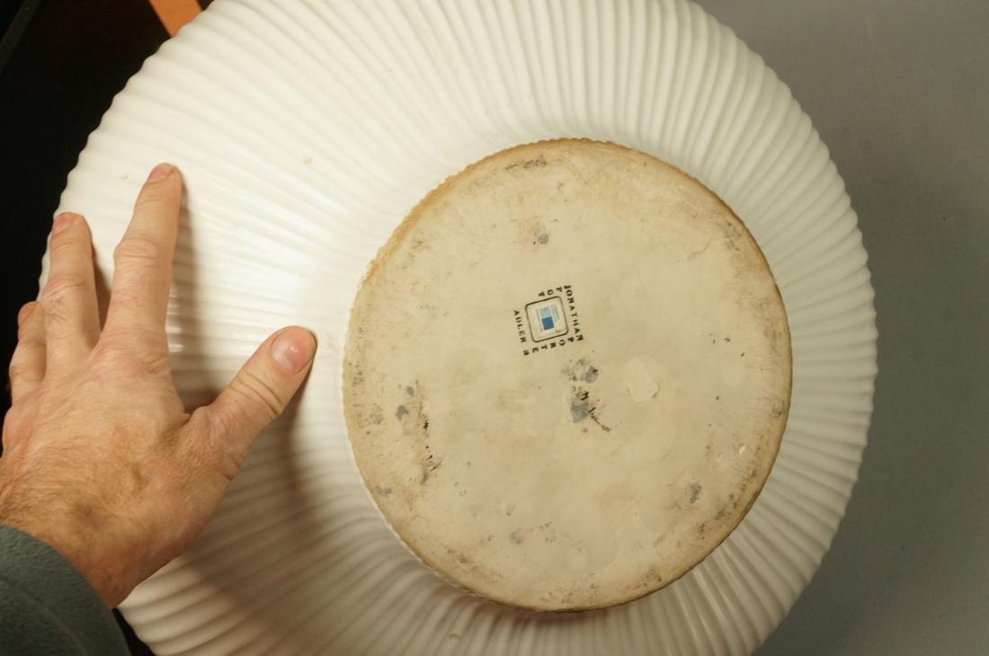JONATHAN ADLER Oversized Pottery Vessel Vase. Rib - 5