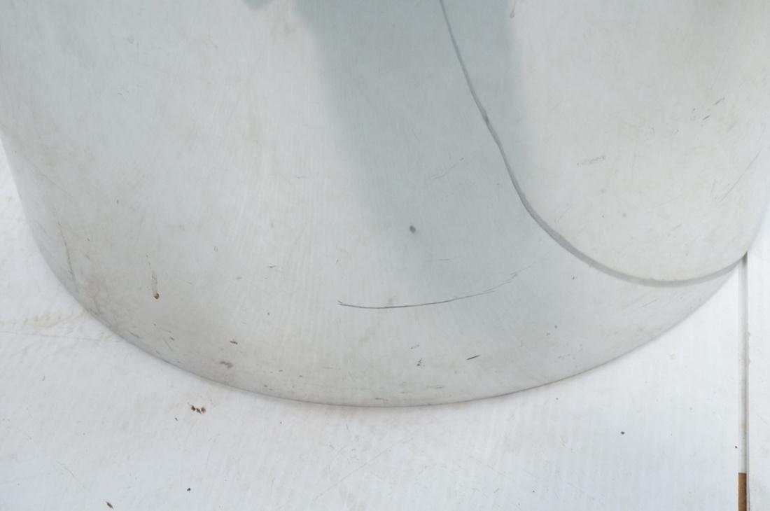 Granite Top Steel Drum Side Tables. Steel cylinde - 6