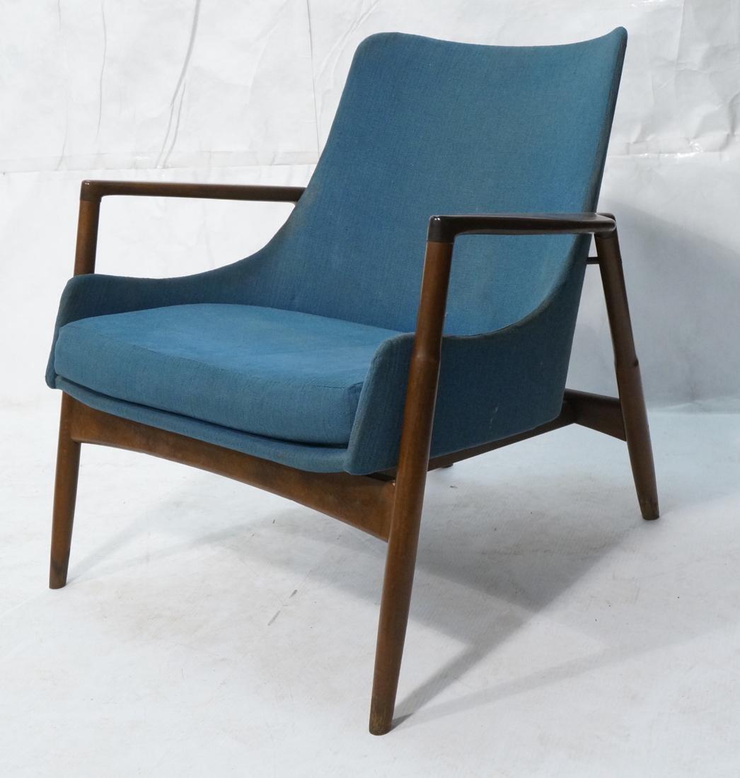 KOFOD LARSEN for SELIG Danish Modern Lounge Chair